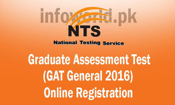 Graduate Assessment Test GAT 2016 Online Registration