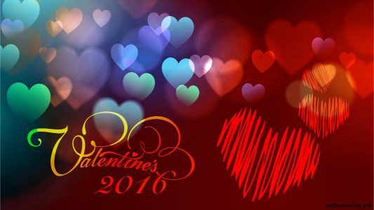 3D Valentines Day Desktop Backgrounds