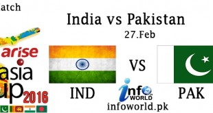 India vs Pakistan Asia Cup T20 Match Live Streaming