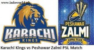 Karachi Kings Vs Peshawar Zalmi