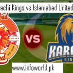 PSL 2nd Playoff Karachi Kings vs Islamabad United Live