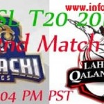 PSL Karachi Kings vs Lahore Qalandars Live Streaming
