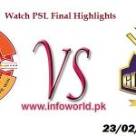 Islamabad United vs Quetta Gladiators Final Highlights