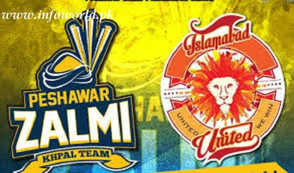 Watch Peshawar Zalmi vs Islamabad United Live Streaming