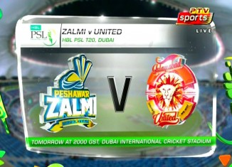PSL 3rd Semi Final Peshawar Zalmi vs Islamabad United