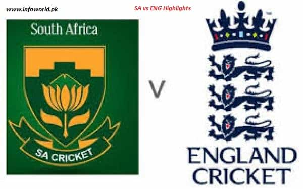England vs South Africa
