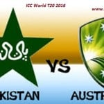 ICC Wt20 Pakistan vs Australia Match Prediction