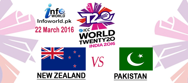 ICC Wt20 Pakistan vs New Zealand Match Prediction