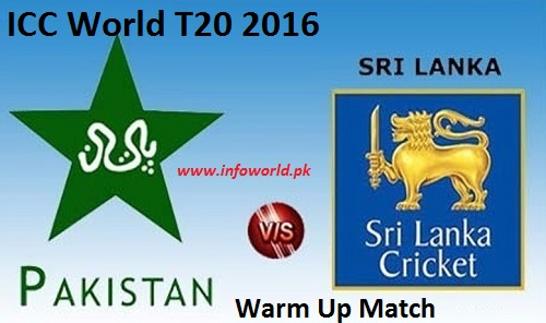 Pakistan vs Sri Lanka Warm-up Match Live Streaming