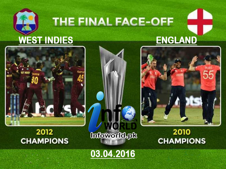 ICC Wt20 Final England vs West indies Prediction