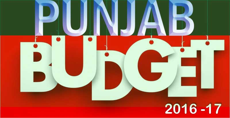 Punjab Annual Budget 2016-17 Complete Detail
