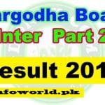 Bise Sargodha 12th Class Result 17th September 2016