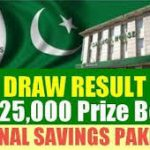 Rs 25000 Prize Bond Draw Result 1st November 2016