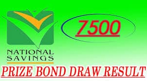 Rs 7500 Prize Bond Draw Result 1st November 2016