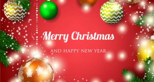 Merry Christmas & New Year Images 2018