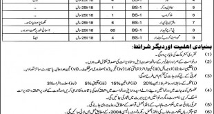 Food Department Punjab Jobs January 2018