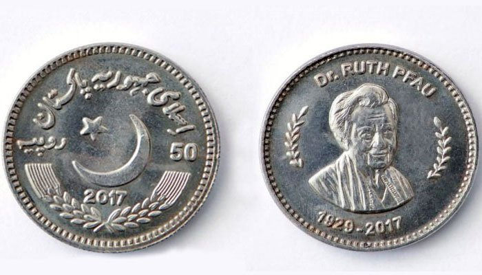 SBP Issues Rs 50 Coin in Honour of Dr Ruth Pfau